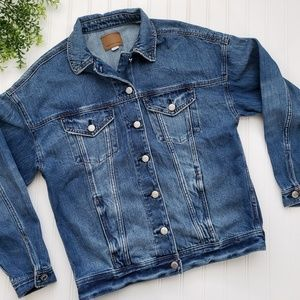 American Eagle Denim Jean Jacket size XS